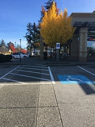 Accessible Parking - Necessity Not Convenience